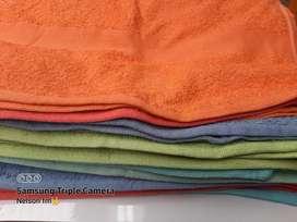 Toallas colores surtidos medidas 60x120