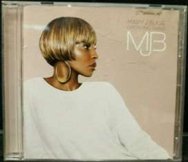 MARY J. BLIGE Growing Paints (1 Cd, $13)