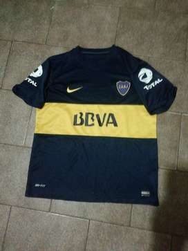 Camiseta de Boca Bbva Total Nike L Nueva