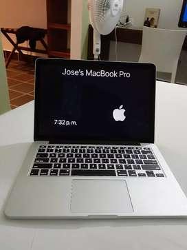 MacBook Pro Único dueño, como nueva