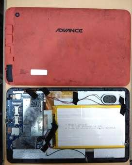 PANTALLA LCD, PLACA ( TARJETA ) DE TABLET ADVANCE AT-A17H PR4647 - REPUESTOS
