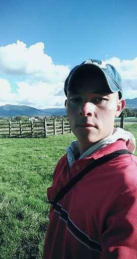 Buscó empleo en finca, experiencia en ganadería, tractorista, Riego,jardinería..