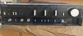 AMPLICADOR ESTEREO. Technics model SU- V9. Radio, FM, Audio.