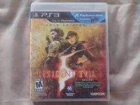 PS3 VENDO RESIDENT EVIL 5 (Negociable)