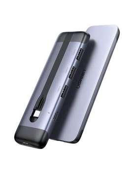 Usb Hub Ugreen 5 En 1 Portable Hdmi- Usb 3.0- Puerto Dp