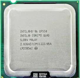 Core 2 Quad 9550 - 12 Megas de cache
