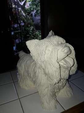 perro con muchos pelos para pintar largo 26 x 20 de alto contorno 59