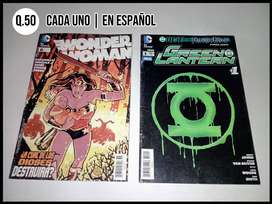 Comics, Español, Dc, Marvel, Harley Quinn, Superman, Batman, Wonder Woman, Punisher, Daredevil, Thanos, Spiderman.