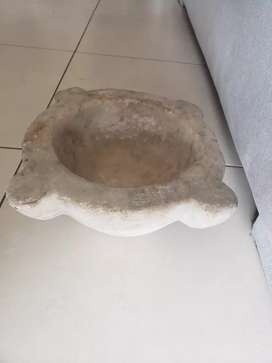 Mortero antiguo marmol