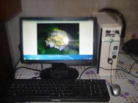 Mini Pc Acer Emachines El1830 C/monitor Led 16 Benq Senseye3