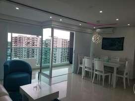 Apartamento Lujoso amoblado en Villa carolina barranquilla