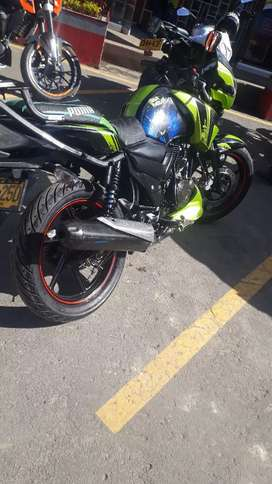 Vendo moto  apache  160