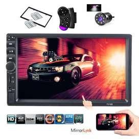 RADIO PARA CARRO MP5 USB 7 PULGADAS MIRROR LINK PROMOCION DE NAVIDAD