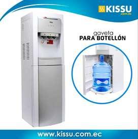 Dispensador De Agua Tcl 15lt Botellón Oculto Bl Agua F/c/n