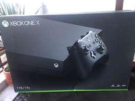 Xbox one x usada buen estado