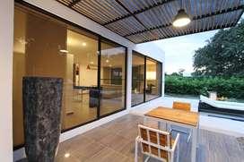 Casa campestre con piscina lote 800m2