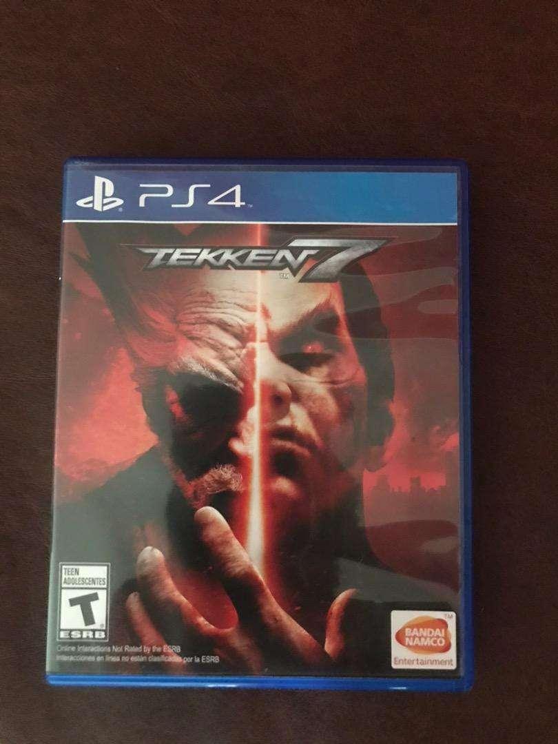 Tekken 7 play station 4 0