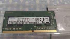 Memoria RAM DDR4 4gb para portátil