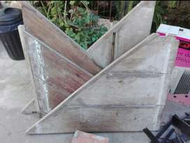 Escalones de Madera