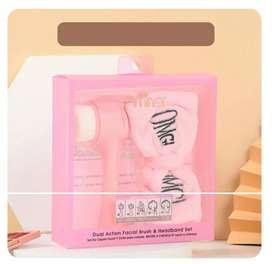 Kit facial cepillo limpiador + diadema OMG