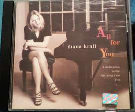 Diana Krall. All For You. Cd original