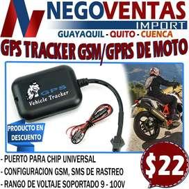 GPS TRACKER GSM - GPS PARA MOTO EXCLUSIVAMENTE EN DESCUENTO SOLO EN NEGOVENTAS