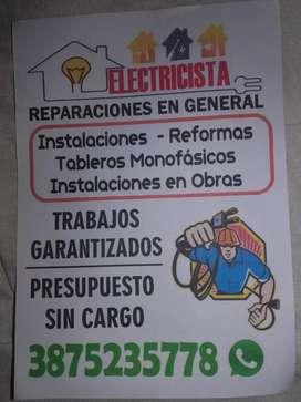 Electricidad  en general con garantía