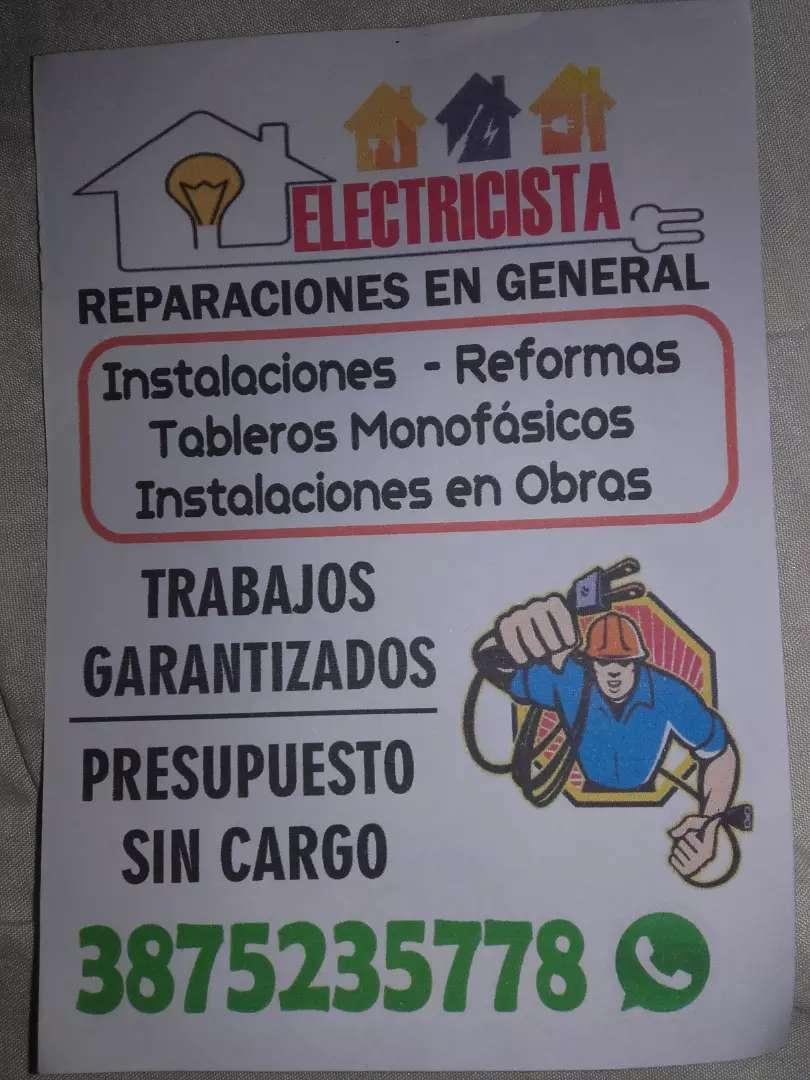 Electricidad  en general con garantía 0