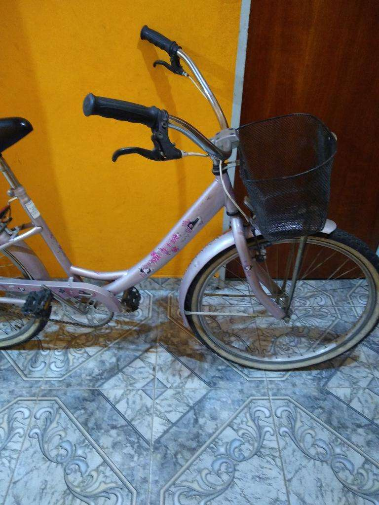 Bicicleta Mussetta flowers rodado 26 0