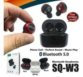 AURICULAR TWS SQ-W3 doble Bluetooth Inalámbricos Manos Libres