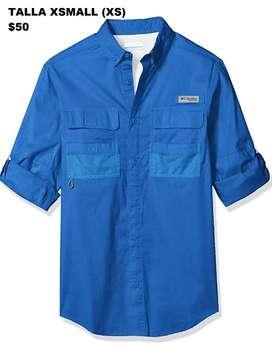 Camisa Columbia Talla XSmall XS