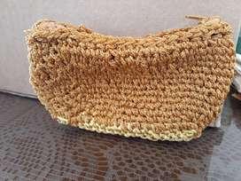 Monederos estilo crochet