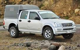 Excellent Dmax camioneta con caseta y bancas 2008