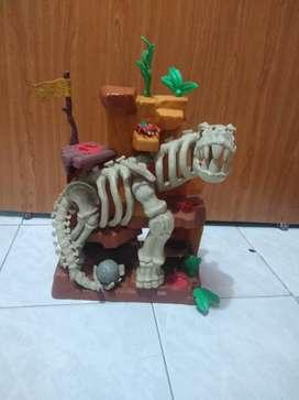 Esqueleto dinosaurio de Imaginext