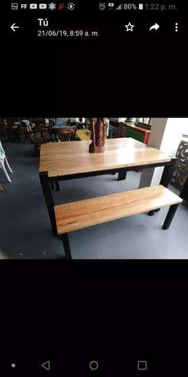 Rusticos el shaddai fabricamos sus muebles