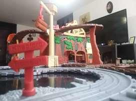 Pista de trenes Thomas original