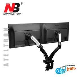 Base doble neumático monitor escritorio 17-27 pulgadas LCD LED