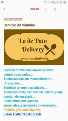 Delivery de Viandas