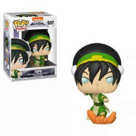 Funko Pop  Toph Avatar El Ultimo Maestro Aire Nickelodeon
