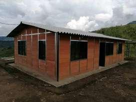 Hacemos casa prefabricada peso liviano