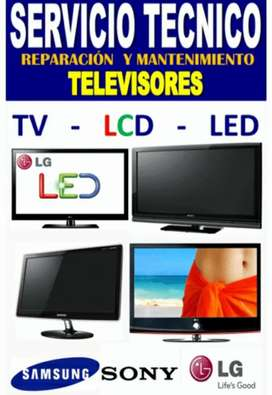 Servicio técnico especializado en la reparación de TV de todas las marcas y modelos domicilio 24 horas