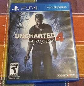 Uncharted 4 ps4 cambio o vendo