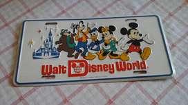 Placa de Disney