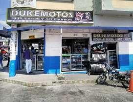NEGOCIO DE REPUESTO DE MOTOS