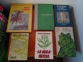 """LIBROS DE LITERATURA, EXCELENTE ESTADO, CADA UNO POR TAN SOLO $7500, VER TITULOS BAJO LAS FOTOS, SUPER DETECTIVES """"Bela"""