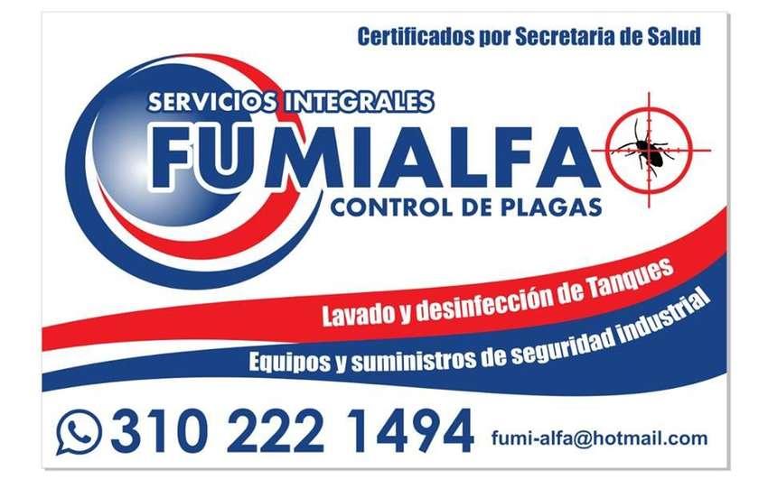 FUMIGACIÓN, para sector residencial, comercial e industrial. TEL: 310 222 14 94 0
