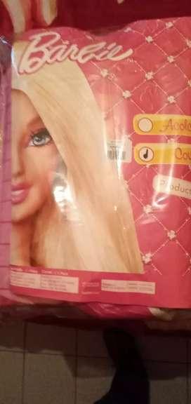 Cobertor Cama 1 Plaza Barbie