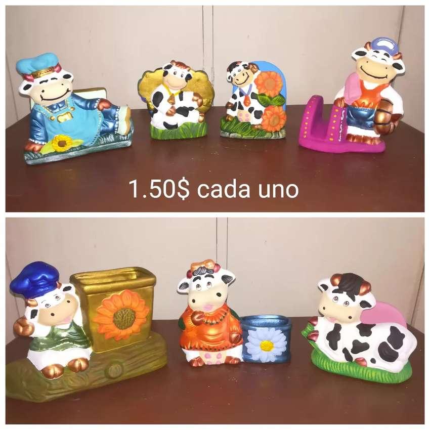 Adornos navideños en ceramica a precio economico 0