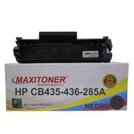 Cartucho Toner Maxitoner Hp Cb435-436