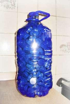 Tapas Plásticas Rosca Botellas Agua